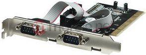 Kontroler Manhattan PCI - 2x Port szeregowy DB9 (158213) 1