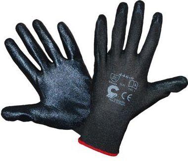 Rękawice robocze Bird Black czarne rozmiar 11 (R446CZ11) 1