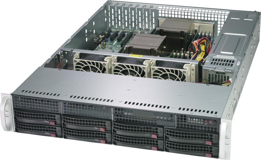 Obudowa serwerowa SuperMicro SuperChassis 825TQ-563LPB 1