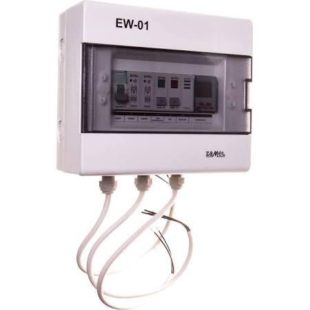 Zamel Sterownik dzwonka szkolnego /elektroniczny woźny/ 230V AC EW-01 (EXT10000028) 1