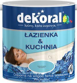 Dekoral Farba Lateksowa Kuchnia łazienka Biała 25l Id Produktu 3400827