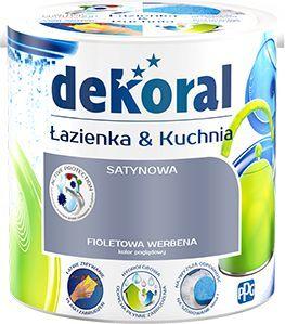Dekoral Farba Lateksowa Nowa Kuchnia łazienka Czas Na Mięte 25l Id Produktu 3400828