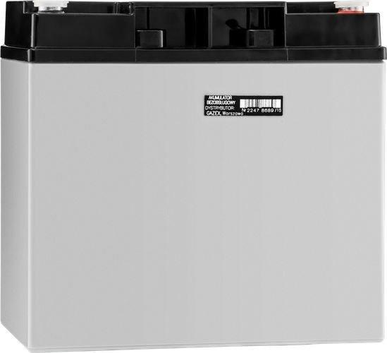 Gazex Akumulator żelowy, bezobsługowy 12V, 17Ah 1