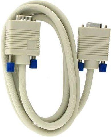Kabel 4World D-Sub (VGA) - D-Sub (VGA) 1.8m biały (04687) 1