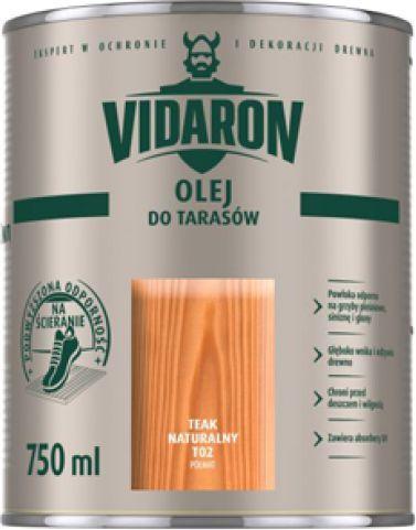 Vidaron Olej Do Tarasów Bezbarwny 075l Id Produktu 3403606