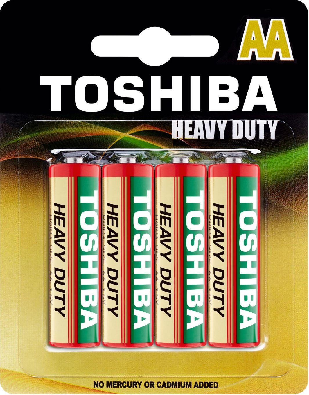 Toshiba Bateria AA / R6 4szt. 1