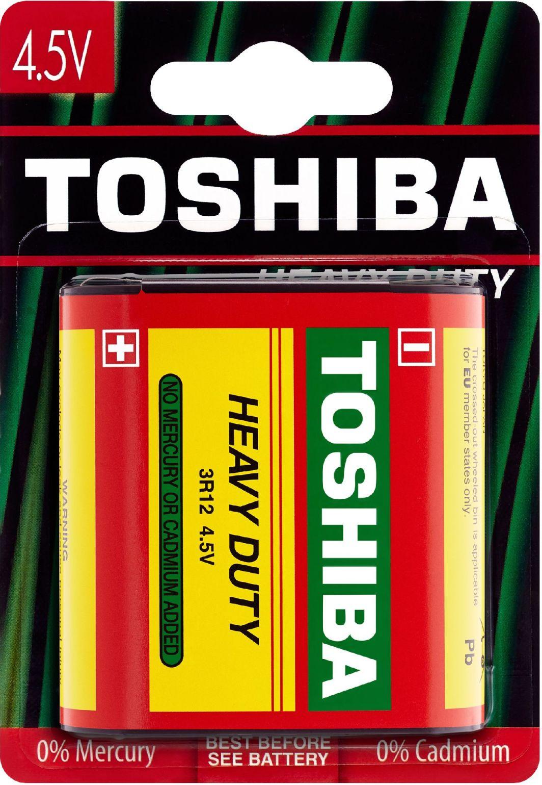 Toshiba Bateria Heavy Duty 3R12 1szt. 1