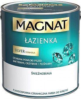 Farba Emulsyjna Magnat łazienka Biała 1l Id Produktu 3416666