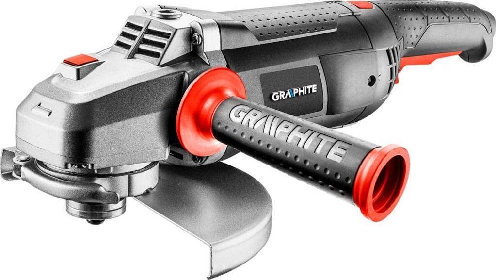Graphite szlifierka kątowa 2350W, tarcza 230 x 22.2 mm, obroty 6500 min (59G207) 1
