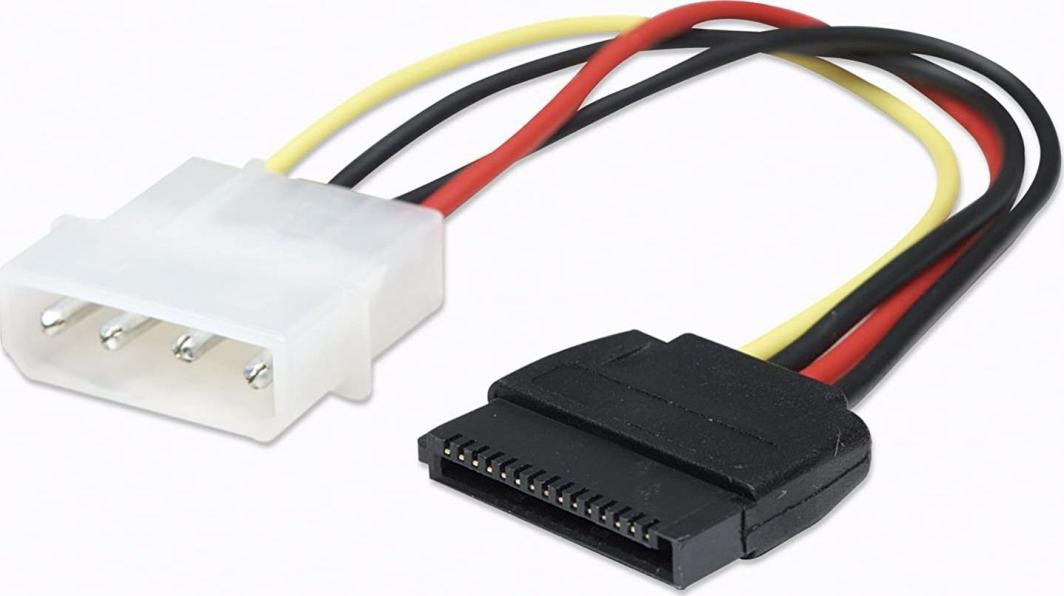 Manhattan Adapter zasilania Molex - 2 x SATA (349369) 1
