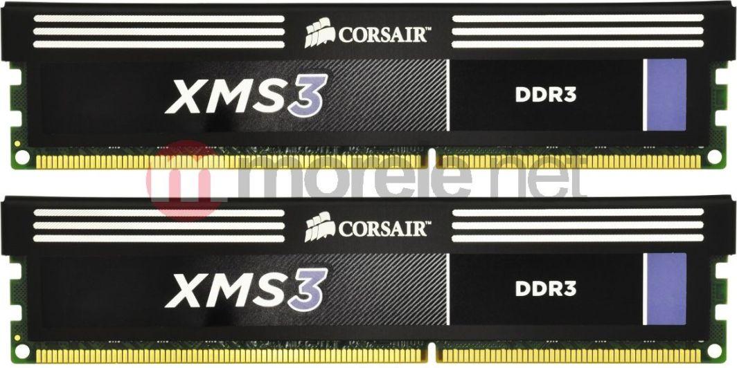 Pamięć Corsair XMS3, DDR3, 8 GB, 1600MHz, CL9 (CMX8GX3M2A1600C9) 1