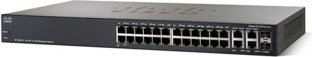 Switch Cisco SF300-24 24x 10/100 Mbps 2x COMBO (SRW224G4-K9-EU) 1