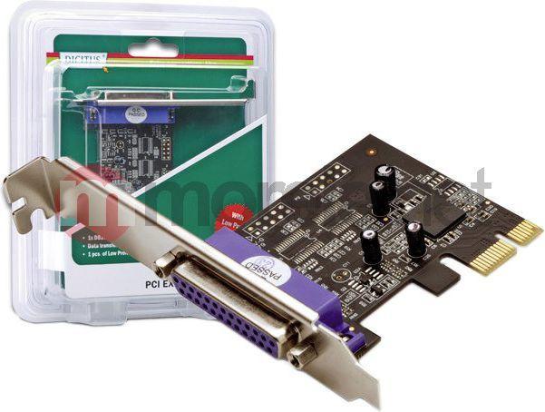 Kontroler Digitus PCIe x1 - Port równoległy LPT (DS-30020-1) 1