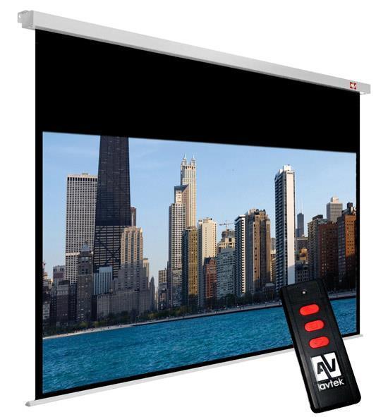 Ekran do projektora Avtek Video Electric 260 1