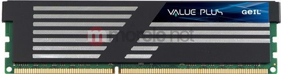 Pamięć GeIL Value Plus, DDR3, 4 GB, 1600MHz, CL9 (GVP34GB1600C9SC) 1