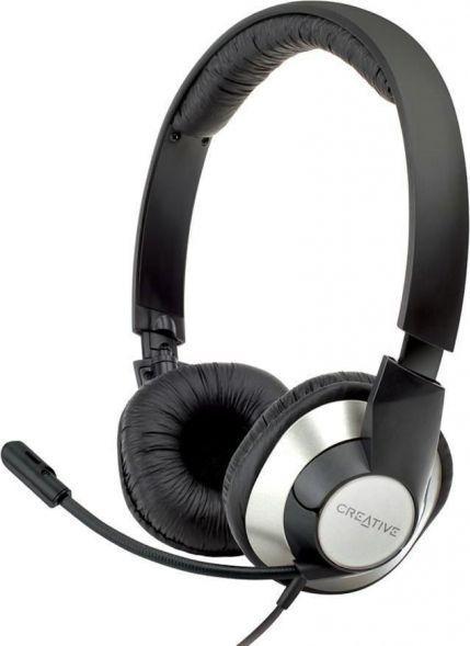 Słuchawki z mikrofonem Creative Labs ChatMax HS-720 USB (51EF0410AA002) 1