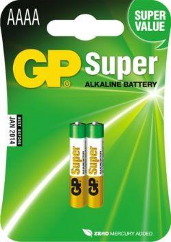 GP Bateria Super AAAA 2szt. 1