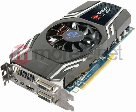 Karta graficzna Sapphire Radeon HD6870 1GB DDR5 PX 256BIT 2xDVI+HDMI+DisplayPort LITE (11179-09-20G) 1