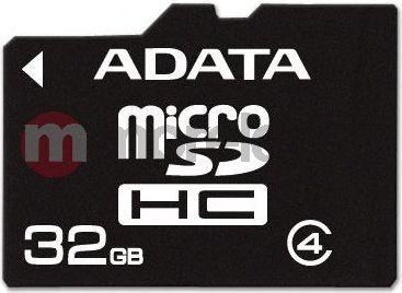 Karta ADATA MicroSDHC 32 GB Class 4  (AUSDH32GCL4RM3BKBL) 1