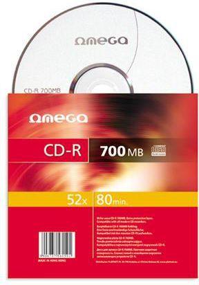 Omega CD-R 700 MB 52x 1 sztuka (56159) 1