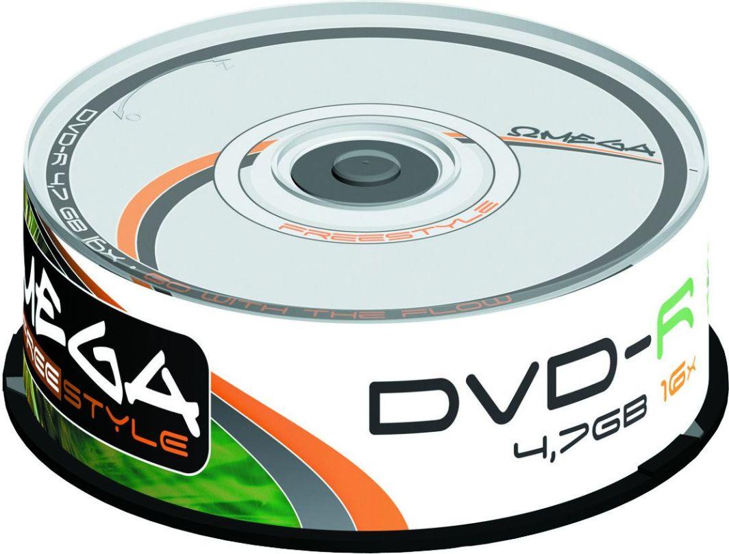 Omega DVD-R 4.7 GB 16x 25 sztuk (56815) 1