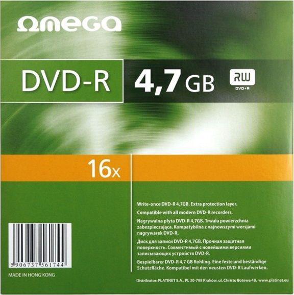 Omega DVD-R 4.7 GB 16x 1 sztuka (561744) 1