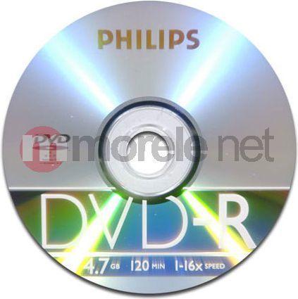 Philips DVD-R 4.7 GB 16x 50 sztuk (DM4S6B50F) 1