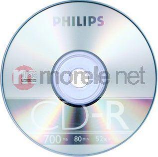 Philips CD-R 700 MB 52x 10 sztuk (CR7D5NB10) 1