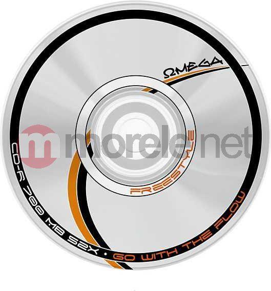 Omega CD-R 700 MB 52x 25 sztuk (56666) 1