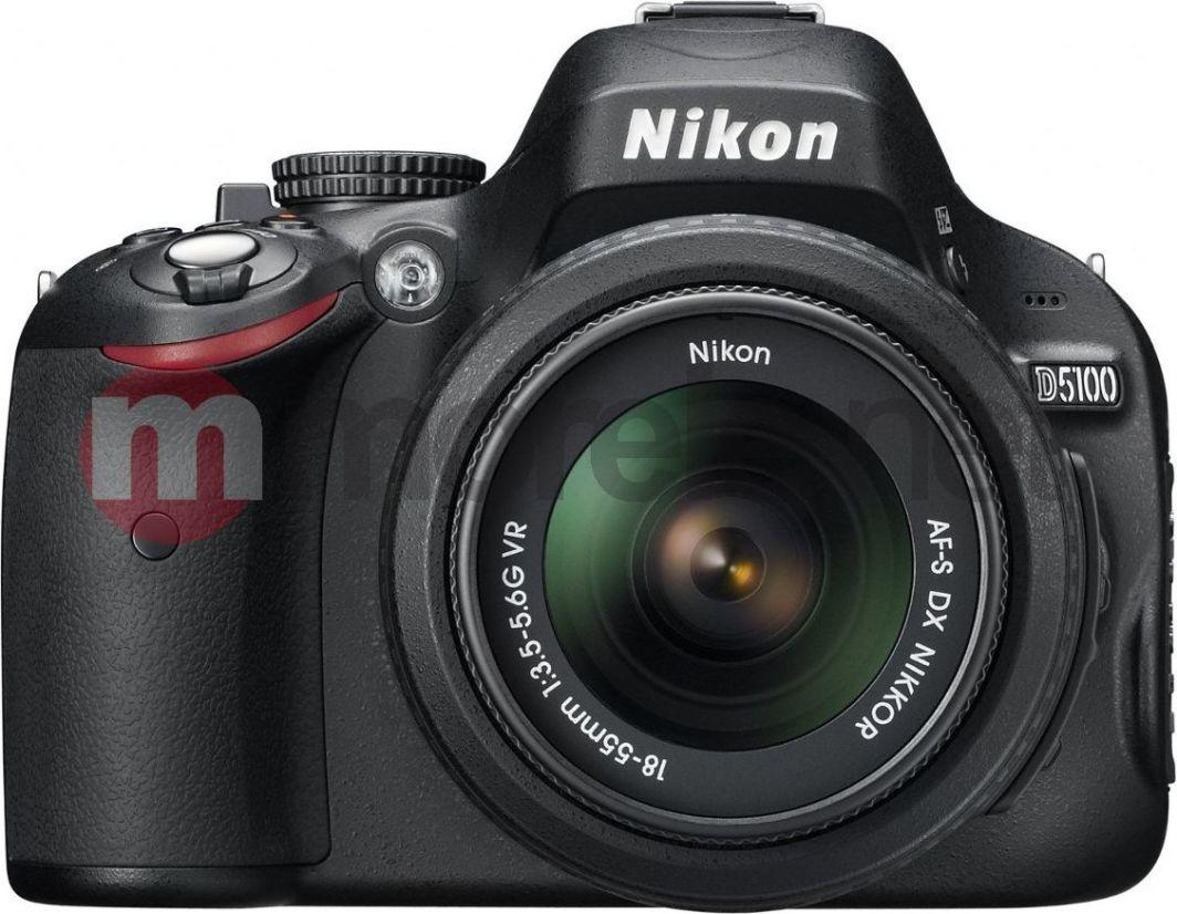 Lustrzanka Nikon D5100 + 18-55mm VR (VBA310K001) 1