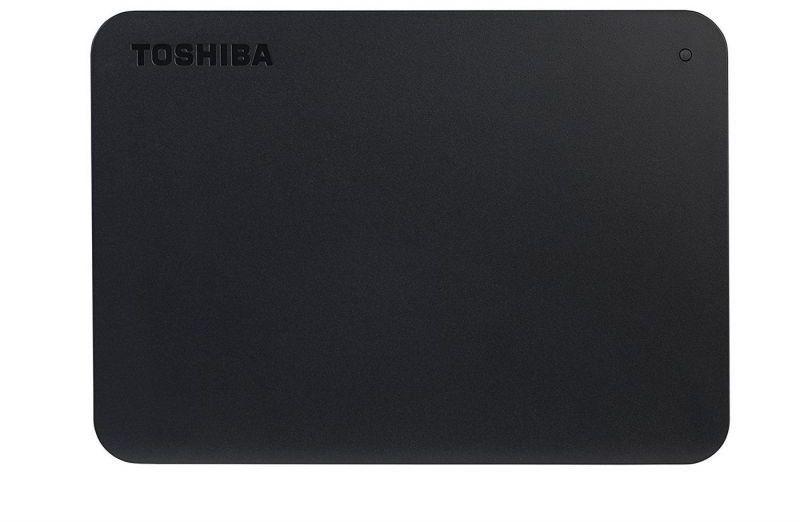 Dysk zewnętrzny Toshiba HDD Canvio Basics 1 TB Czarny (HDTB410EK3AA) 1