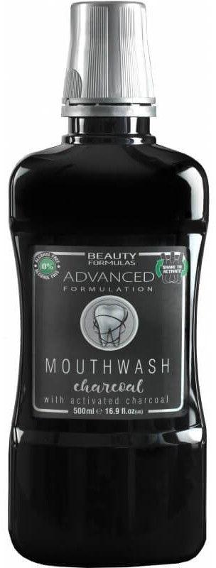 Beauty Formulas Płyn do płukania ust Aktywny Węgiel 500ml 1