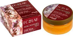EO Laboratorie Macadamia Spa Maska do włosów odżywcza 200ml 1