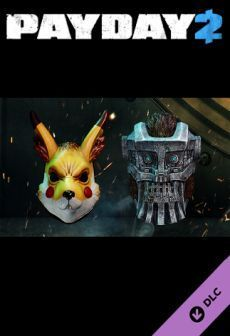 PAYDAY 2: Electarodent and Titan Masks, ESD ID produktu: 4002813