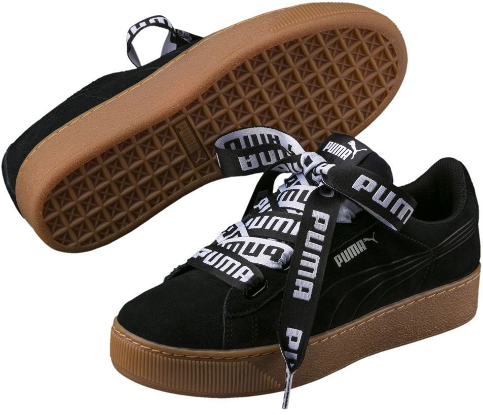 Puma Buty damskie Vikky Platform Ribbon Bold czarne r. 38.5 (365314 01) ID produktu: 4003101