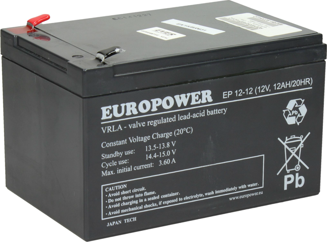 Ever Europower 12V 12Ah - T/AK-12012/0005 1