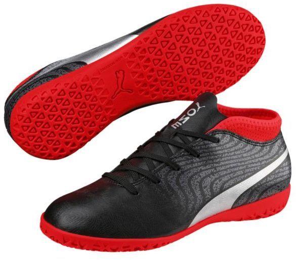 Puma Buty piłkarskie One 18.4 IT JR czarno czerwone r. 35 (104559 01) ID produktu: 4010539