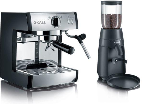 Ekspres ciśnieniowy Graef zestaw do kawy PIVALLA SET 1