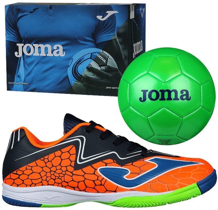 86f2afdc Joma sport Buty piłkarskie Super Copa JR IN pomarańczowe r. 31 + piłka  gratis (SCJS.808.IN) w Sklep-presto.pl