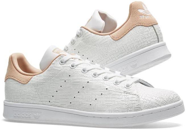 bb6a0190 Adidas Buty damskie Stan Smith białe r. 40 2/3 (CQ2818) w Sklep ...