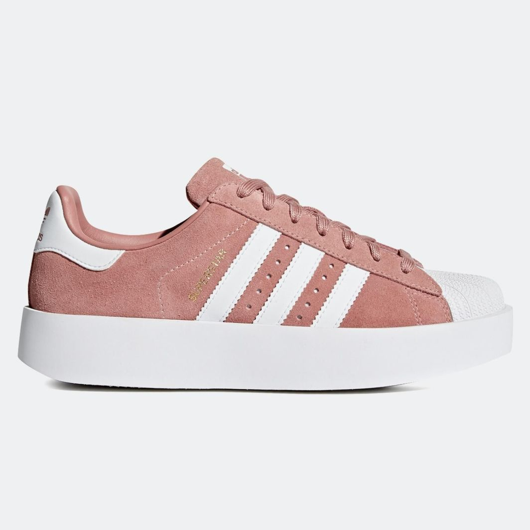 Adidas: A15v4537 | Różowy Adidas Superstar 2.0 Buty Damskie