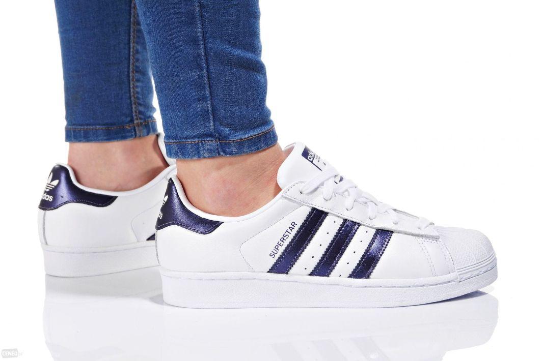 buty adidas superstar białe damskie 39 1 3