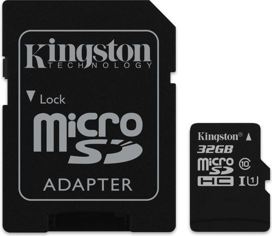 Karta Kingston MicroSDHC 32 GB Class 10  (SDC1032GB) 1