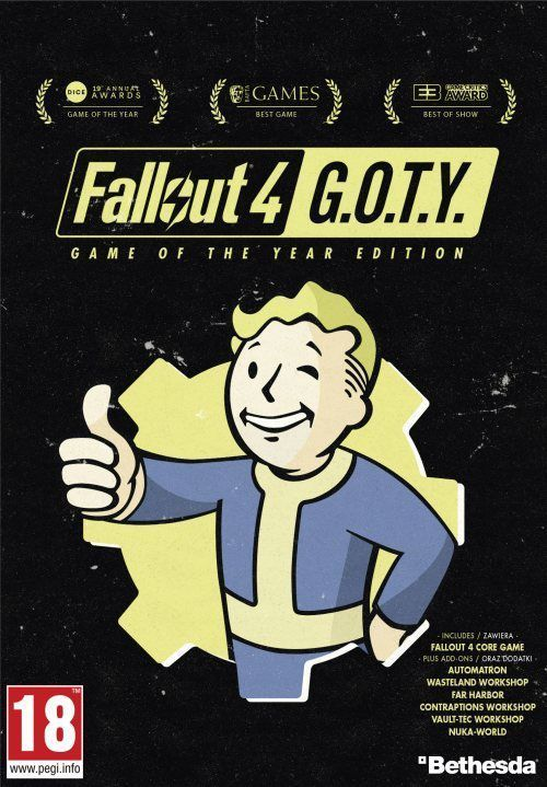 Fallout 4 - Game of The Year Edition, ESD 1