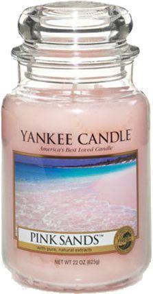 Yankee Candle Large Jar duża świeczka zapachowa Pink Sands 623g 1