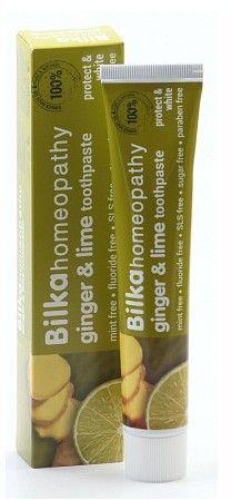 BILKA Homeopathy NATURAL pasta do zębów Ginger and Lime 1