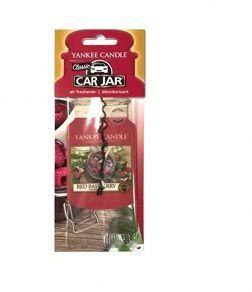 Yankee Candle Car Jar wiszący odświeżacz do samochodu Red Raspberry 1