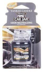 Yankee Candle Car Jar Ultimate wiszący odświeżacz do samochodu - zapach nowego auta 1