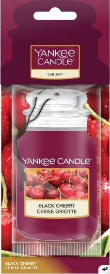 Yankee Candle Car Jar wiszący odświeżacz do samochodu Black Cherry - czarna wiśnia 1
