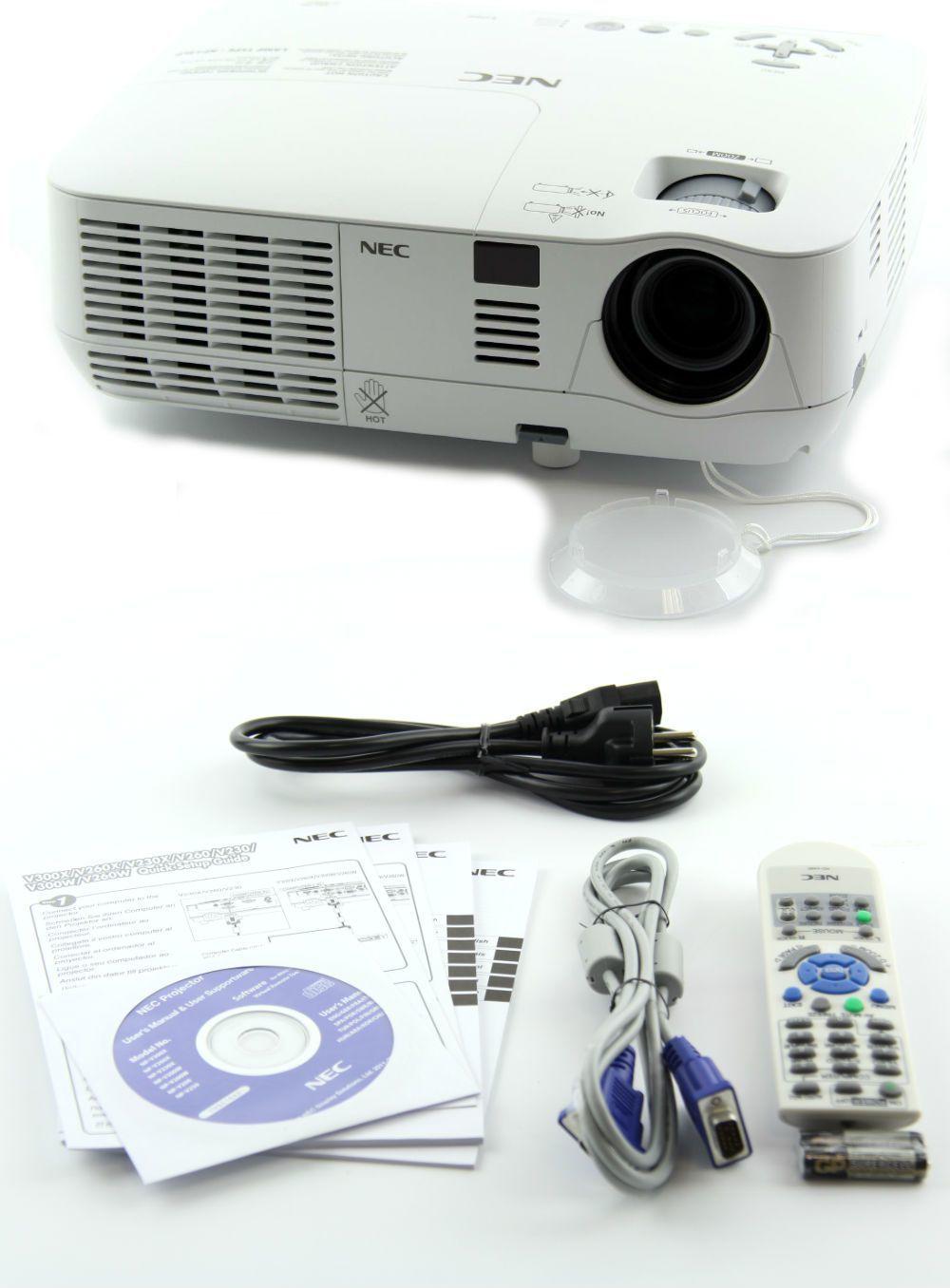 Projektor NEC lampowy 800 x 600px 2600lm DLP  1